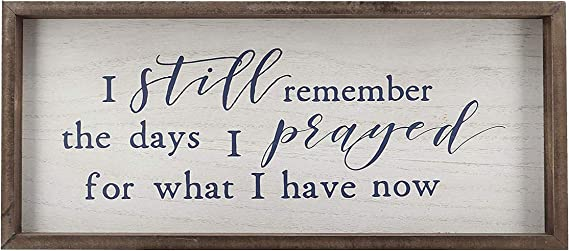 Rustic Wooden Wall Sign with Quotes