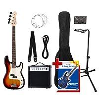 Rocktile Groover's Pack PB E-Bass Set II Sunburst Groover's Pack + Rockt. Tuner + CC stand
