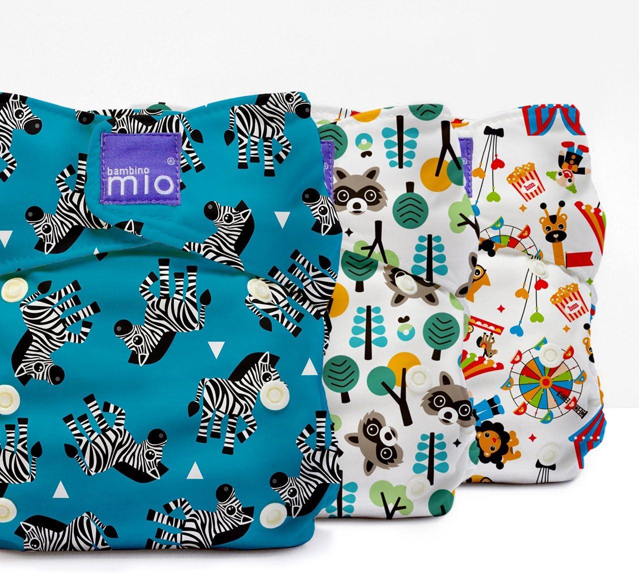 unisex Lot de 1 miosolo set de pa/ñales de tela fiesta del safari Bambino Mio NKSOXSAF -