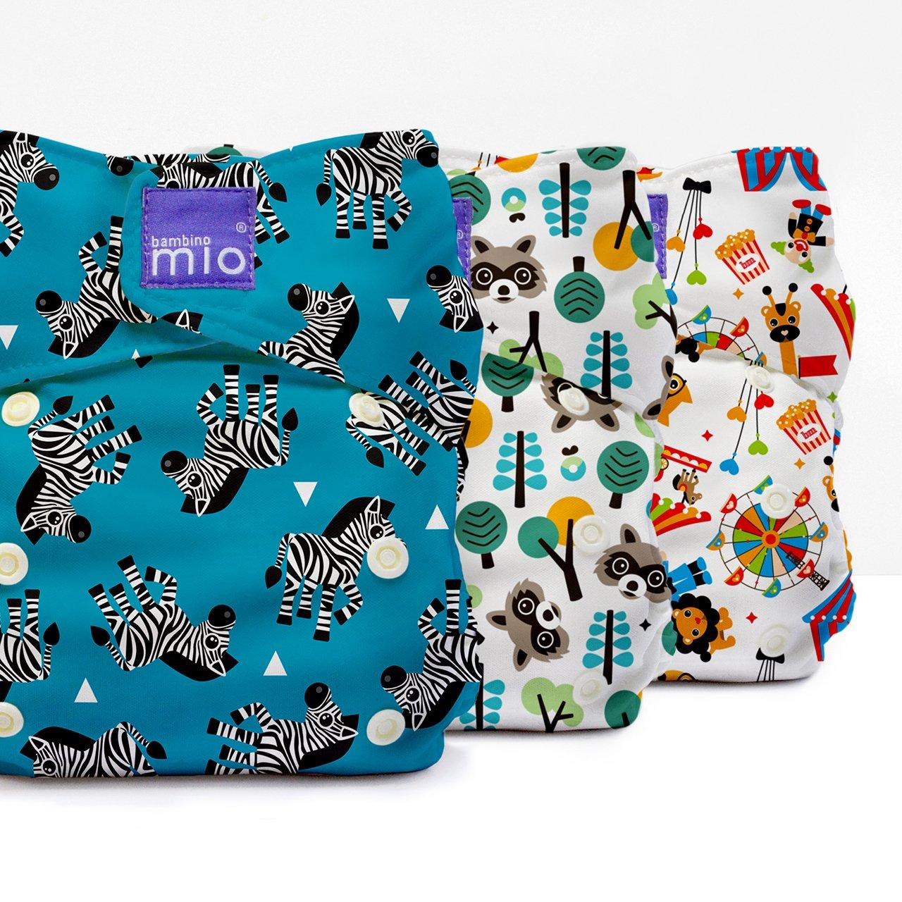 Bambino Mio, miosolo set de pañales de tela, Multicolor (Carnaval): Amazon.es: Bebé