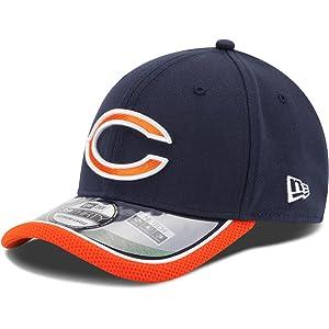 e5107303e Chicago Bears New Era 39THIRTY NFL 2014 On-Field Performance Flex Hat