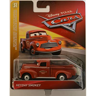Disney/Pixar Cars Heyday Smokey Doc's Racing Days Series 1:55 Scale Collectible Die Cast Model Car: Toys & Games