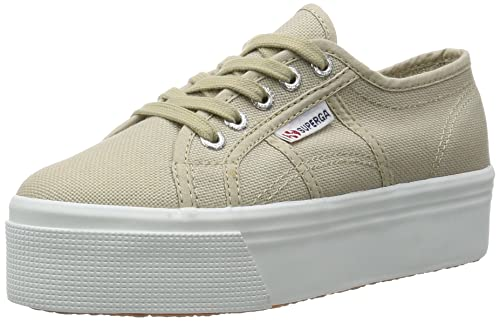 TG. 38 EU Beige Taupe Superga 2790ACOTW Linea Up and Down Sneaker Donna Be