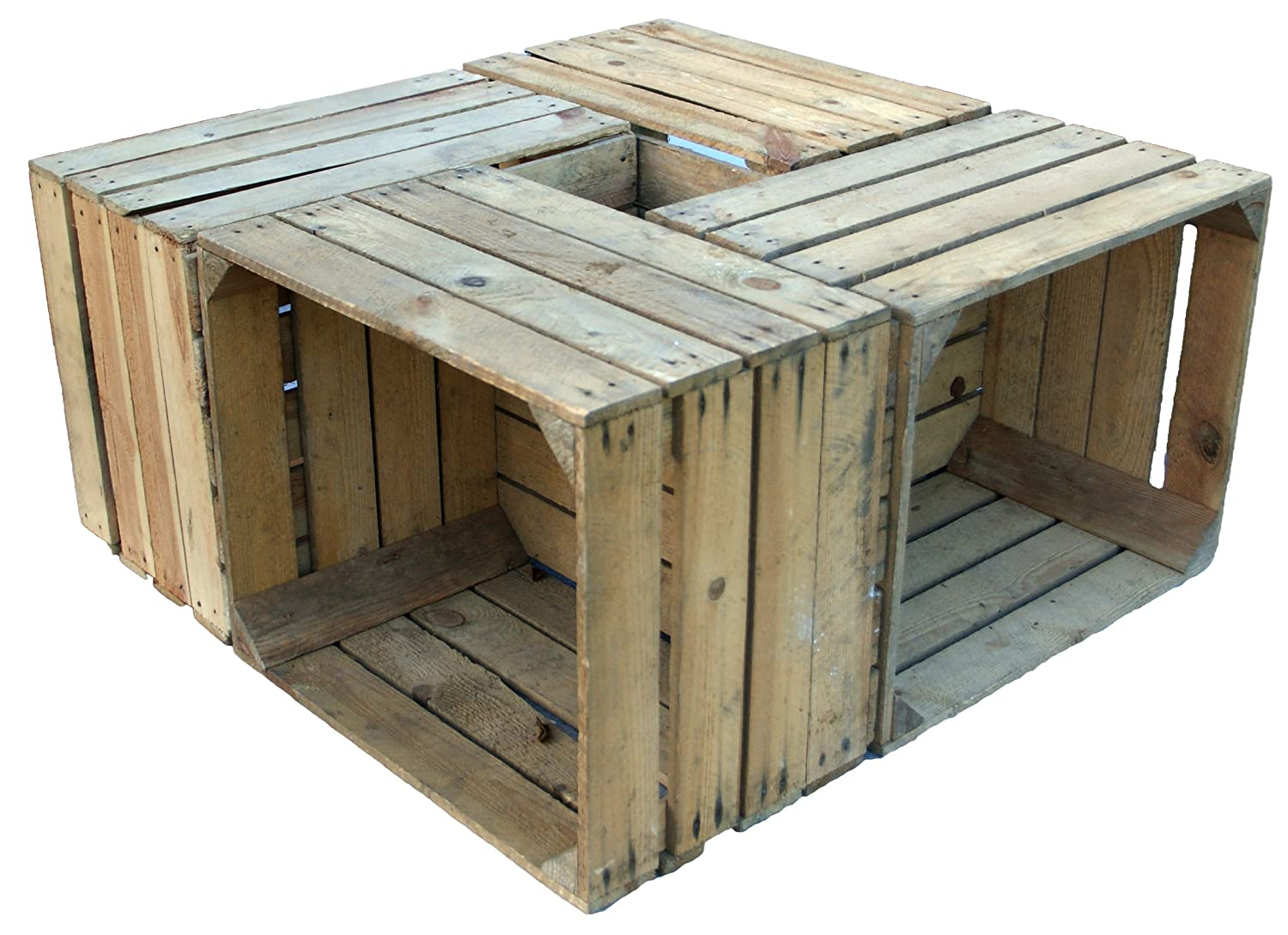 4 pcs Hand Fruit Crate