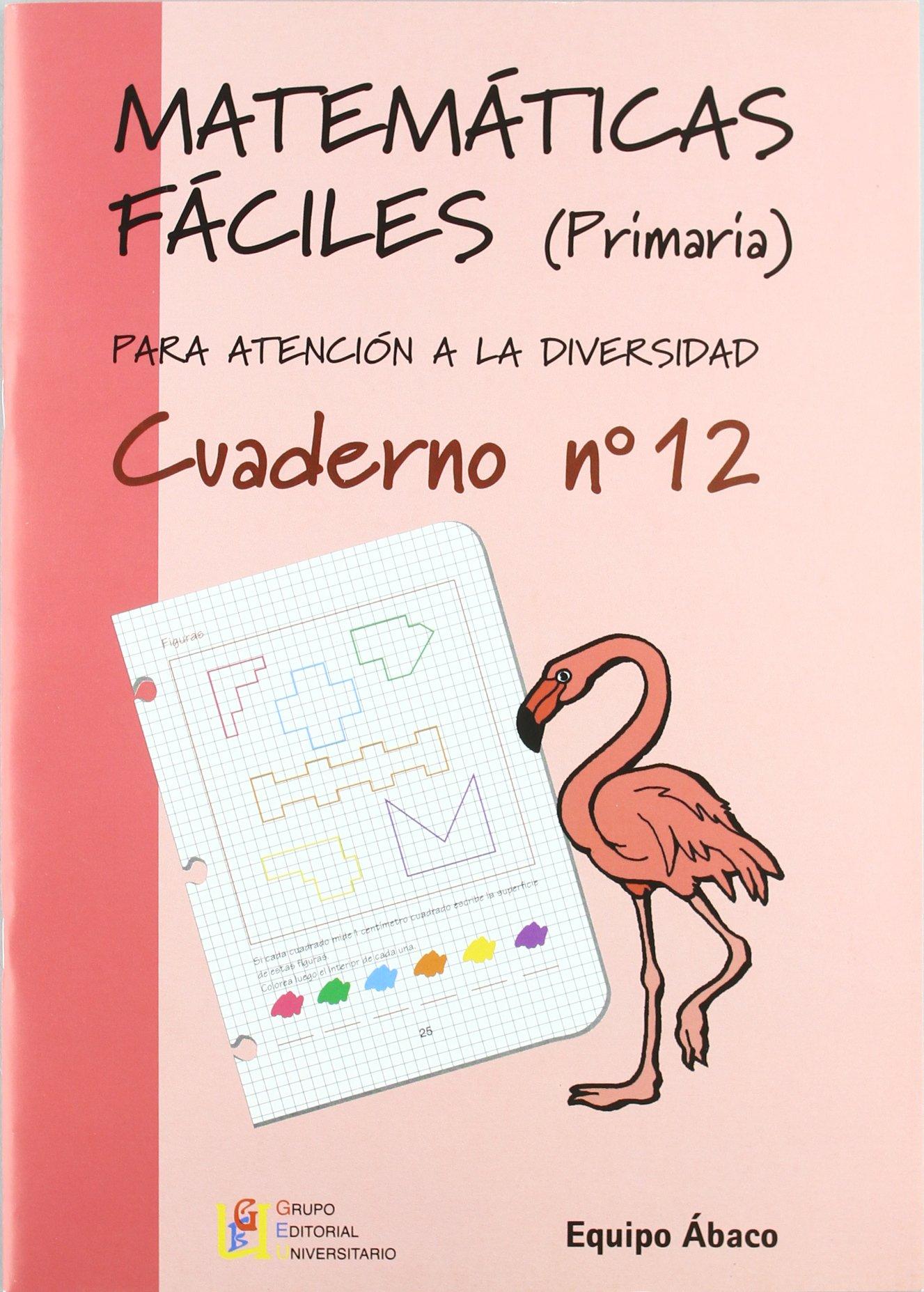 Matemáticas fáciles 12, Educación Primaria (Spanish) Perfect Paperback – 2003