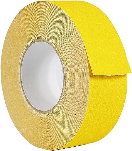 "Wide RUBBER Anti NON Slip Safety TAPE ~Shower// Tiles// Bathtub~ BLACK 50mm 2/"""
