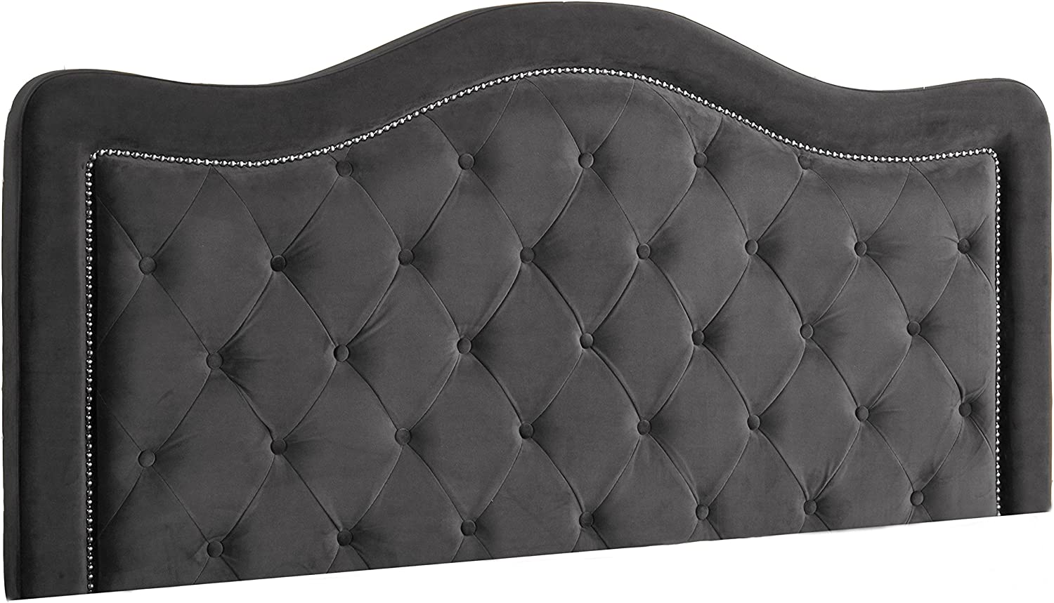 Hillsdale Trieste Without Bed Frame Queen Headboard, Pewter
