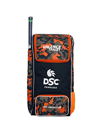 b98227c2c756 Buy DSC Valence Target Cricket Bag (Black) Online at Low Prices in ...