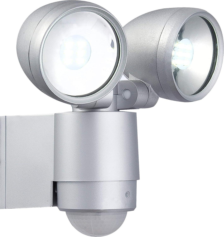 Außenleuchte Strahler Bewegungsmelder Globo LED 34105-2S Radiator II Hofbeleuchtung GL34105-2S