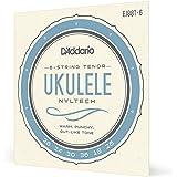 D'Addario Nyltech Ukulele Set, 6-String Tenor (EJ88T-6)