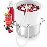 Tescoma Steam Juicer Fruit and Vegetables Della casa, Plastic, White, 28.4 x 16.9 x 28 cm
