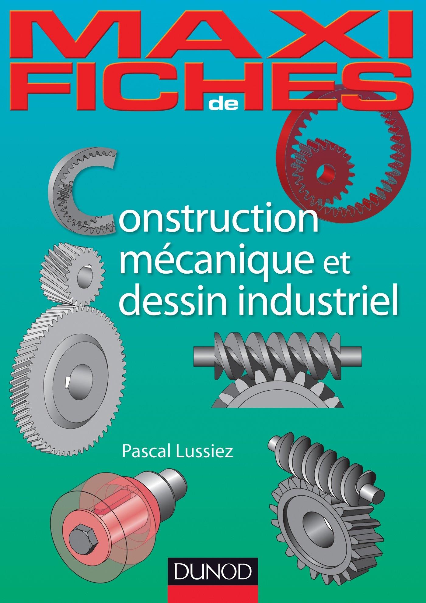 Amazon Fr Maxi Fiches De Construction Mecanique Et De Dessin