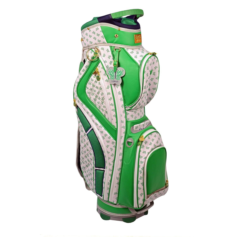 LilyBethゴルフカートバッグ、グリーンバタフライ   B00G7FXZ7M