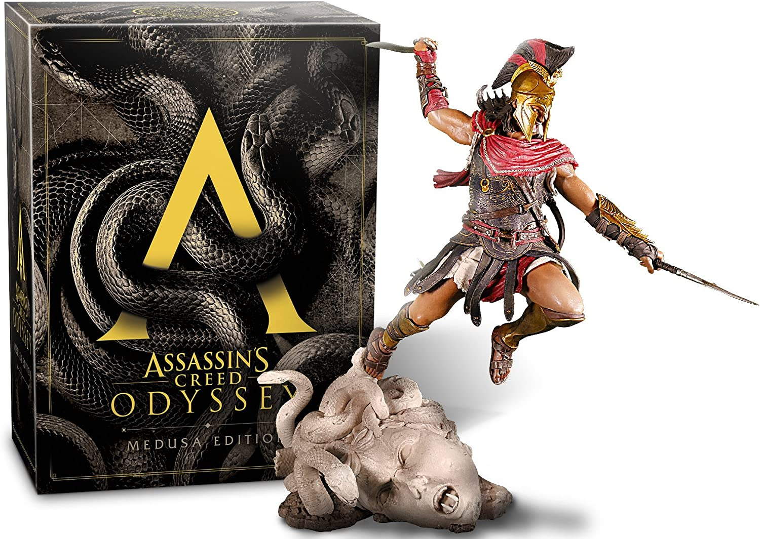 Assassins Creed Odyssey - Medusa Edition - PlayStation 4 [Importación alemana]: Amazon.es: Videojuegos