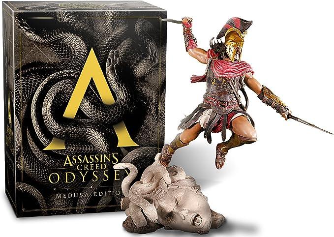 Assassins Creed Odyssey - Medusa Edition - PlayStation 4 [Importación alemana]: Amazon.es: Videojuegos
