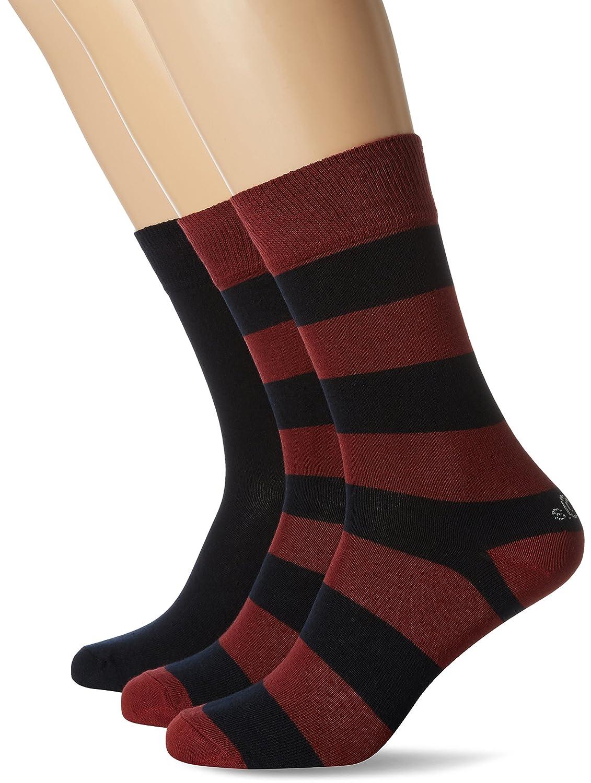 25ec560aebb31 s.Oliver Socks Chaussettes Homme (Lot de 3) S20446 - optimumsaas.lt