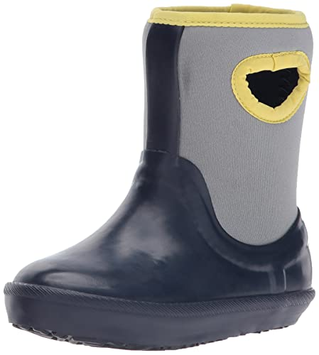 85e0fbe1532 UGG Kids' T Kex Rain Boot, Navy, 6 M US Toddler: Buy Online at Low ...