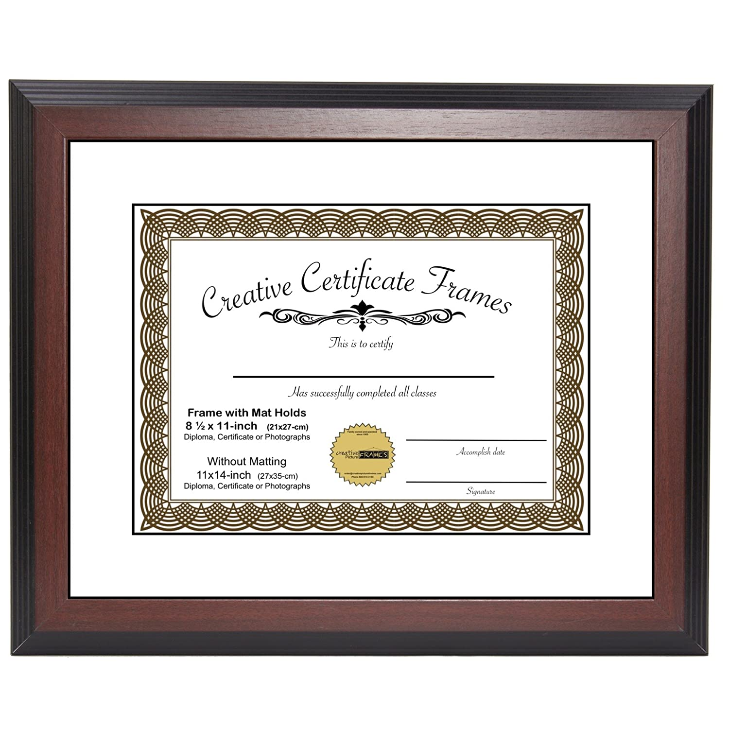 Includes UV Glazed Glass and Anti Aging Liner NBG Home RW0761BG Nielsen Bainbridge Artcare 8x10 Tuscan Collection Black and Gold Archival Wood Frame With Single Warm White Mat For 5x7 Image
