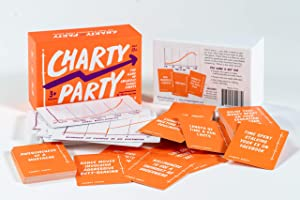 Charty Party - The Adult Card Game of Absurdly Funny Charts, Graphs, and Data Visualization