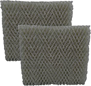 Air Filter Factory 2-Pack Compatible Replacement for Duracraft/Holmes/Family Care DH840, DH950, HM650, HM725, HM730 Humidifier Filter