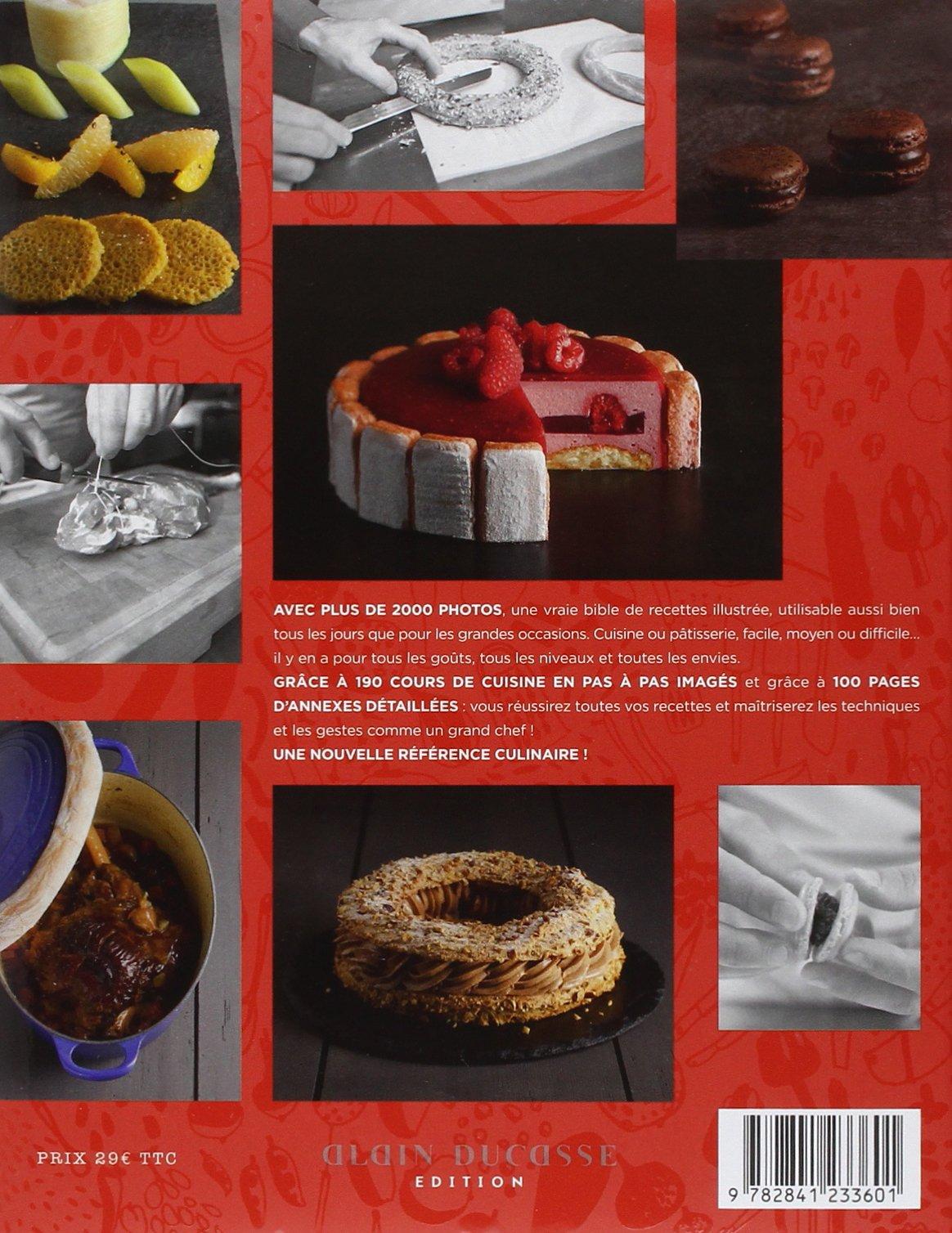 Cours Illustrés à Lécole De Cuisine Alain Ducasse Amazonca - Cours de cuisine grand chef