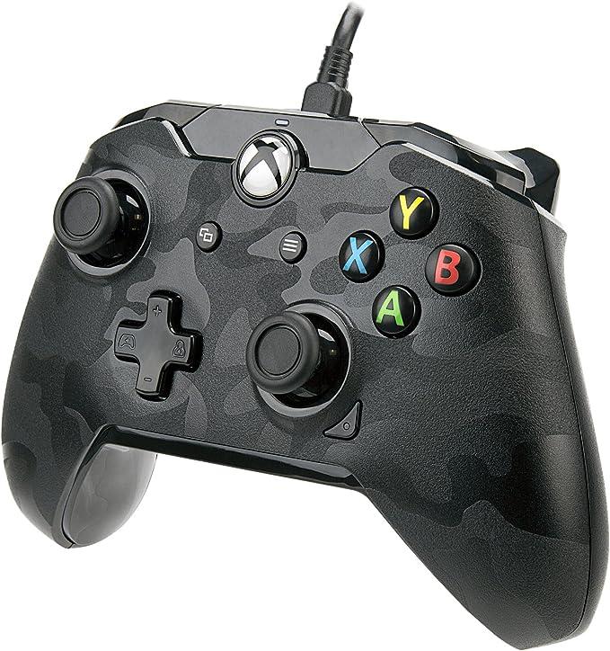 PDP Camo Gamepad PC,Xbox One Negro, Gris - Volante/mando (Gamepad ...
