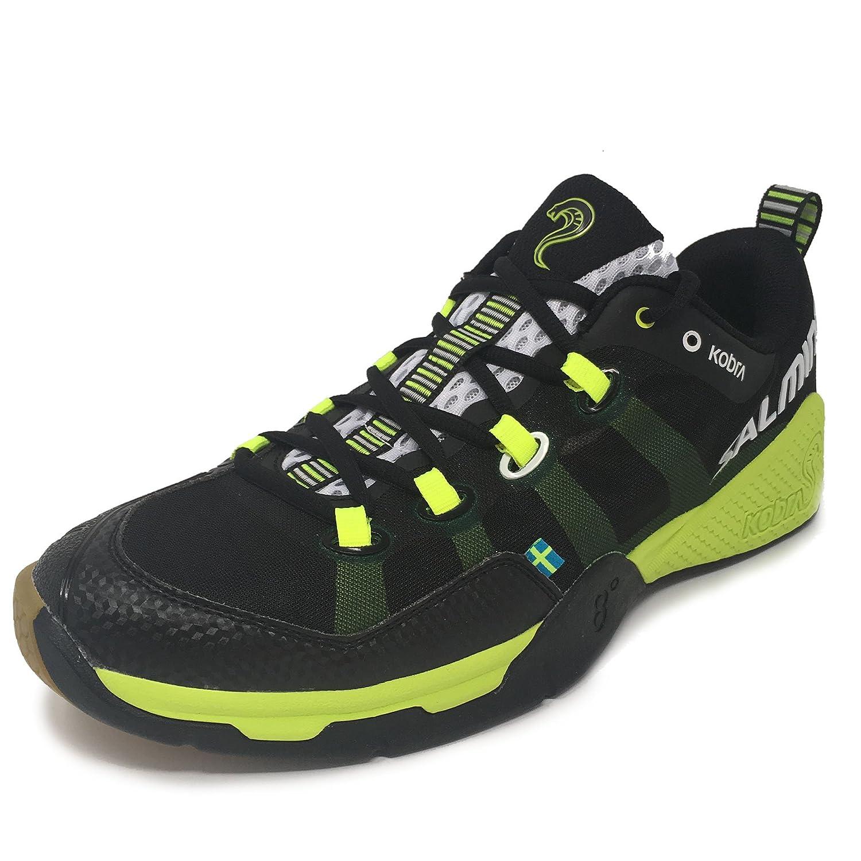 TALLA 40 2/3. Chaussures Salming Kobra Men noir/jaune