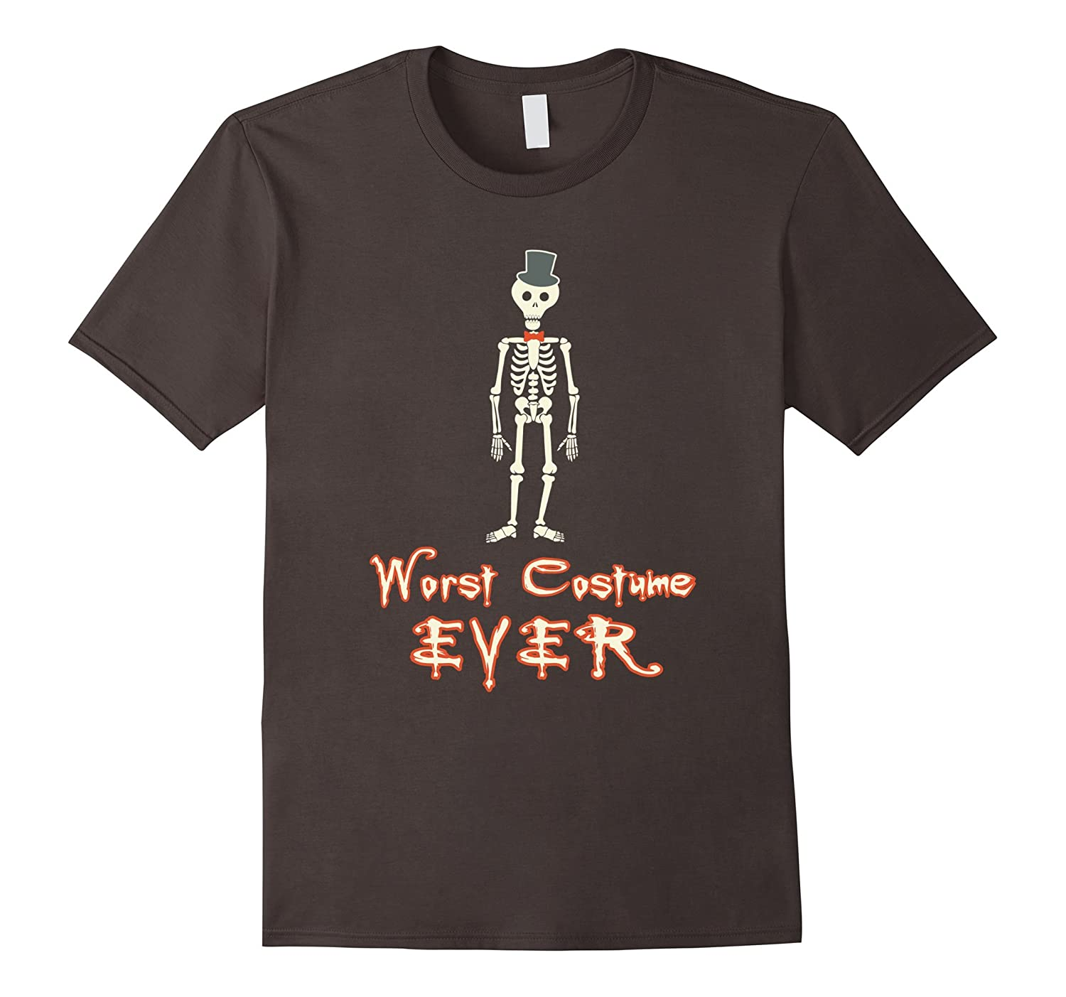 Worst Costume Ever Funny Novelty Halloween t-Shirt-RT