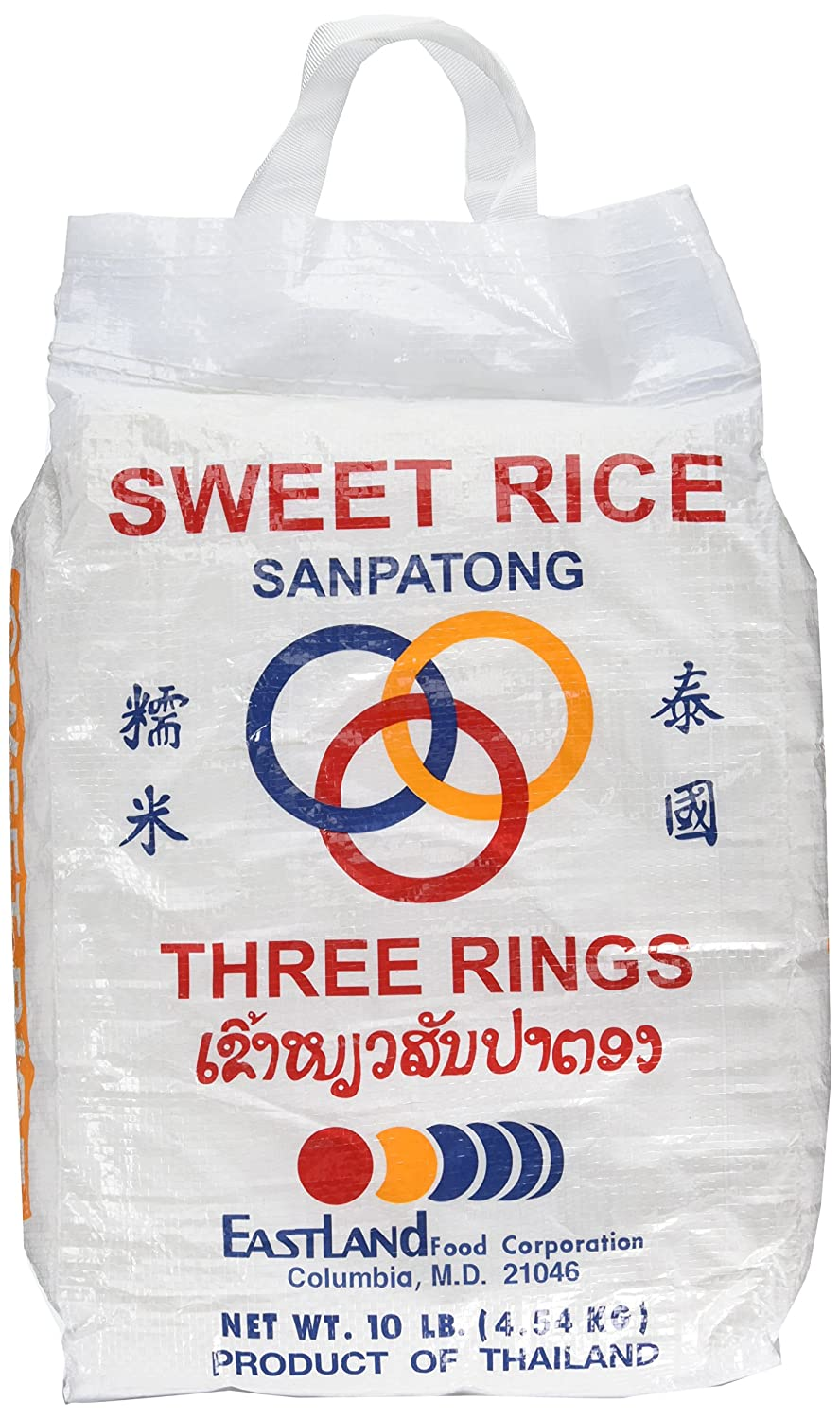 Thai Sticky Rice (Sweet Rice) 10 Lb, by Three Rings | eBay