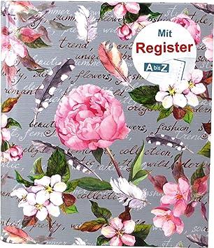 "Ringbuch /""Orient/"" mit A-Z Register 50 Blatt"