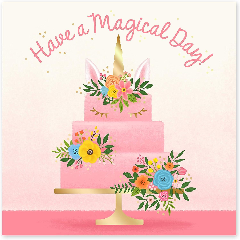 hermano Central 23 mejor amigo Tarjeta de cumplea/ños con texto en ingl/és Happy Birthday Cake para /él pap/á hermana mam/á viene con divertidos adhesivos