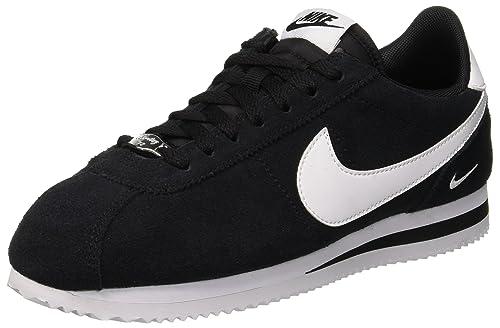 Mens Cortez Basic Se Shoe, Zapatillas de Gimnasia para Hombre, Negro (Black/White 003), 45 EU Nike