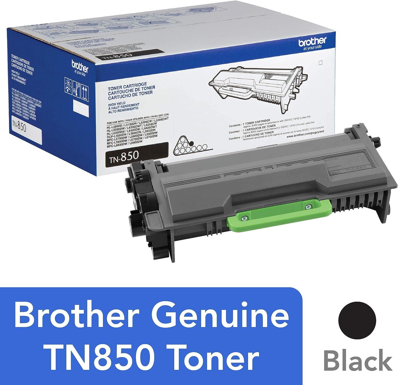 1 Pack High Yield TN880 Toner Cartridge For Brother TN850 HL-L6400DW MFC-L6900DW