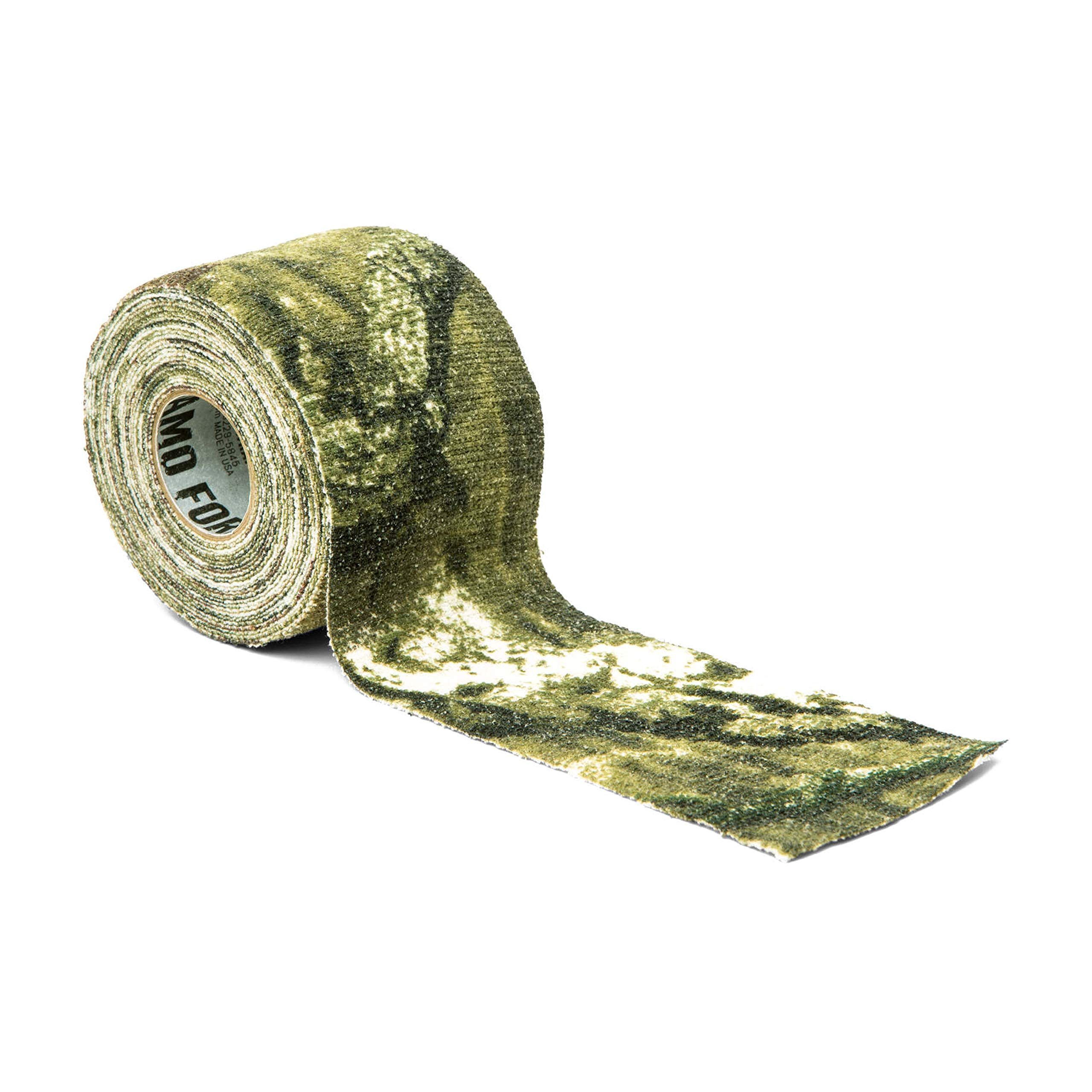 GEAR AID Camo Form Self-Cling and Reusable Camouflage Wrap, Mossy Oak Break Up Infinity, 2'' x 144'' Roll by GEAR AID