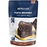 Keto Fudge Brownie Mix by Keto and Co | Just 1.1g Net Carbs Per Serving | Gluten free, Low Carb, Diabetic Friendly…