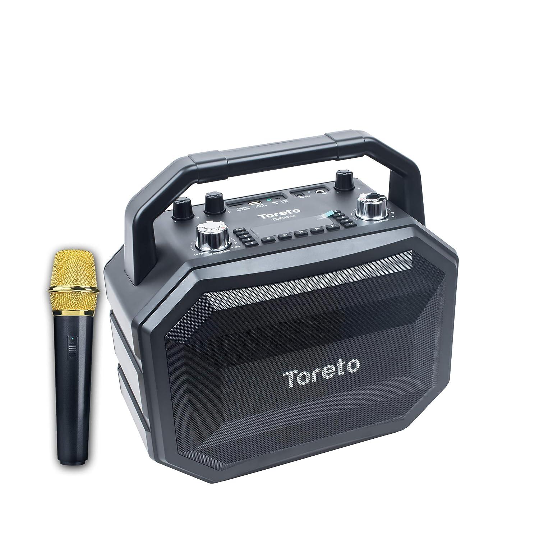 Toreto 60W Portable Wireless Party Speaker With Karaoke Mic