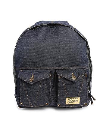 9de95ddd343 Eastpak - Sac à dos Eastpak Jeans Jean Paul Gaultier ref eas37245-56K-Brut  Denim  Amazon.fr  Vêtements et accessoires