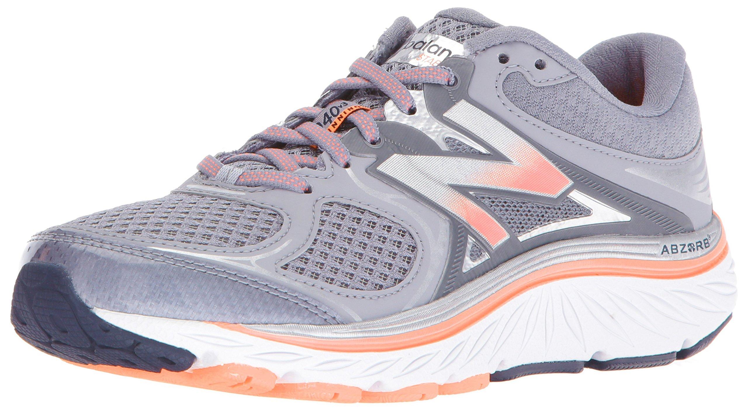 New Balance Women's w940v3 Running Shoe, Silver, 8 D US