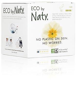 13 toallas Eco by Naty Toallas sanitarias