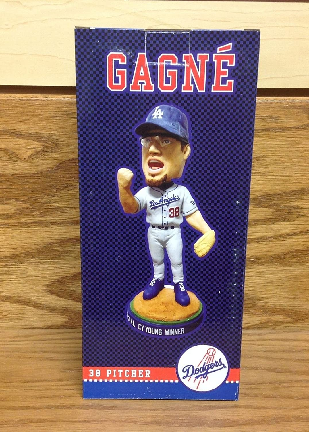 Eric Gagne 2003 CY YOUNG Los Angeles Dodgers 2004 Bobble Bobblehead SGA
