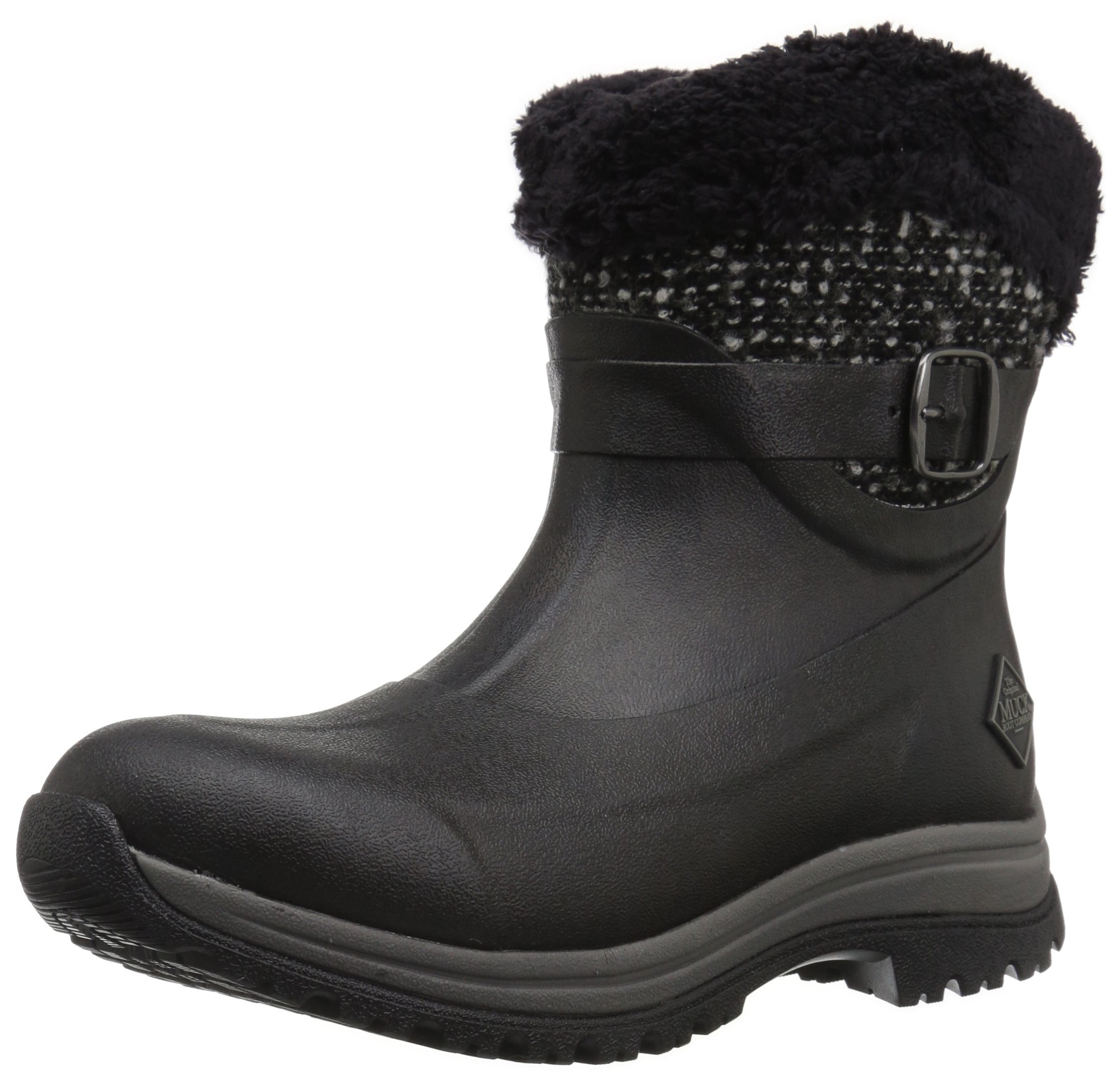 Muck Boot Women's Apres (Ankle) Supreme Work Boot, Black, 8 M US by Muck Boot