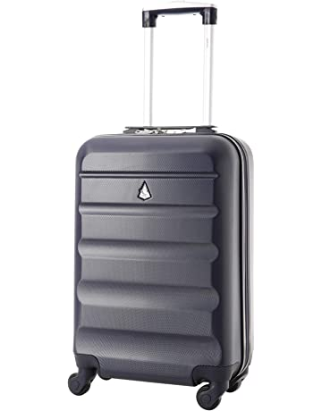 02886954d Aerolite Super Lightweight ABS Hard Shell Travel Carry On Cabin Hand Luggage  Suitcase with 4 Wheels