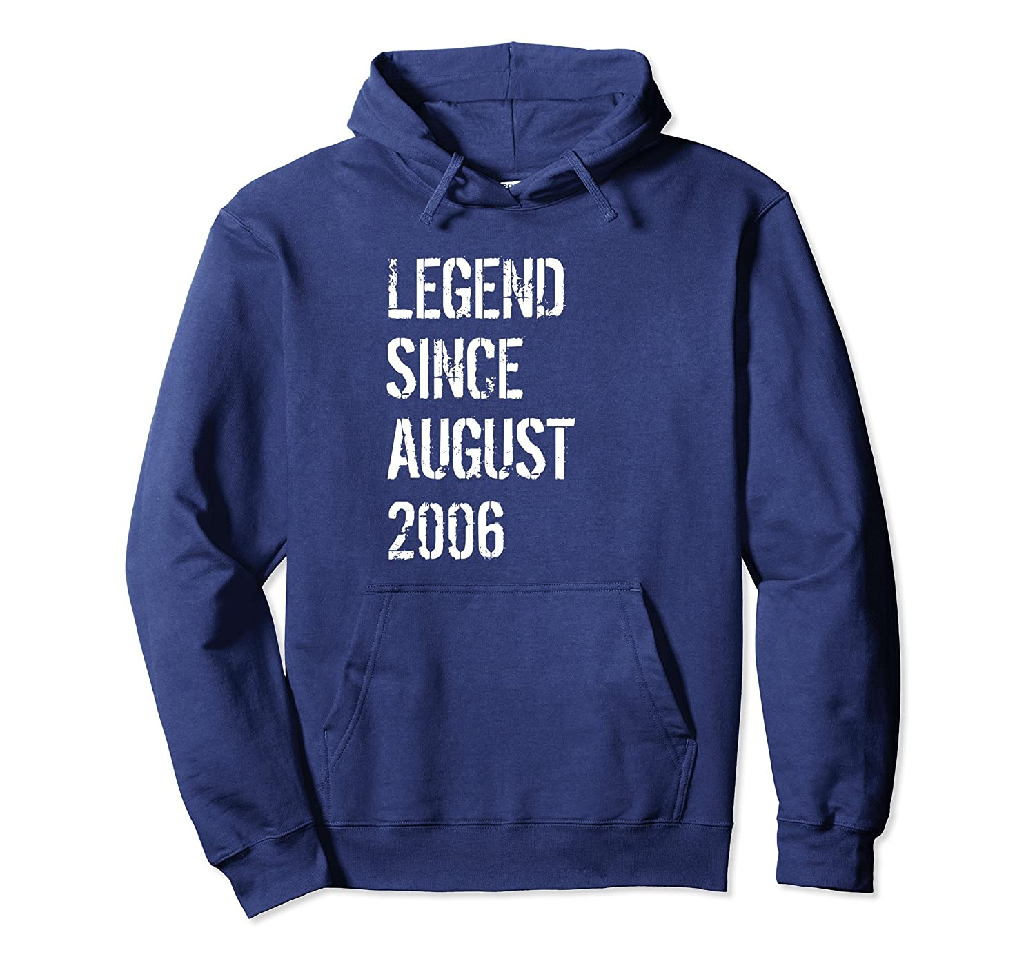 12th Birthday Gift Hoodie for Boys & Girls Born August 2006-Awarplus