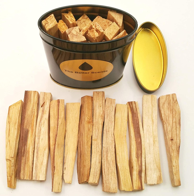 Palo Santo Sticks ギフトボックス - オーガニックな野生収穫 本物の100%天然無成型パロサント スマッジスティック B07ND5Y2W3