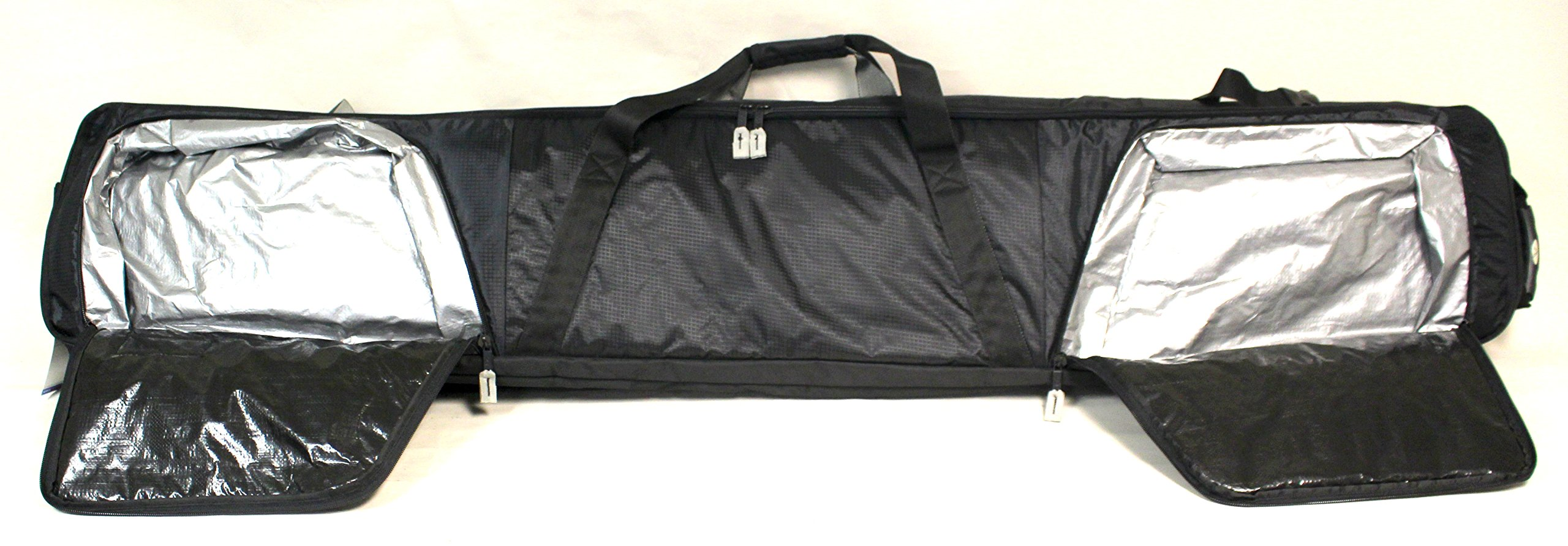 Double Ski Bag w/Wheels - Deluxe by Select Sportbags (Image #2)