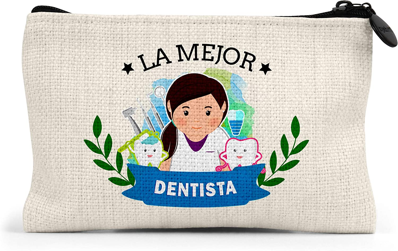 Monedero la Mejor Dentista del Mundo Regalo Original Dentistas Personalizado