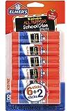 Elmer's All Purpose School Glue Sticks, Washable, 6g, 8 Count (E5004)