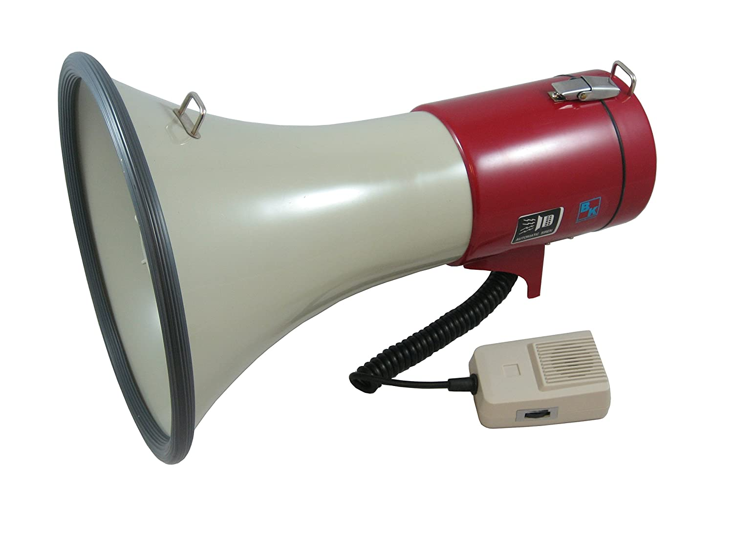 Blast King 72ber56s Transistor Megaphone With Siren And 2 Electronic Stand Musical Instruments