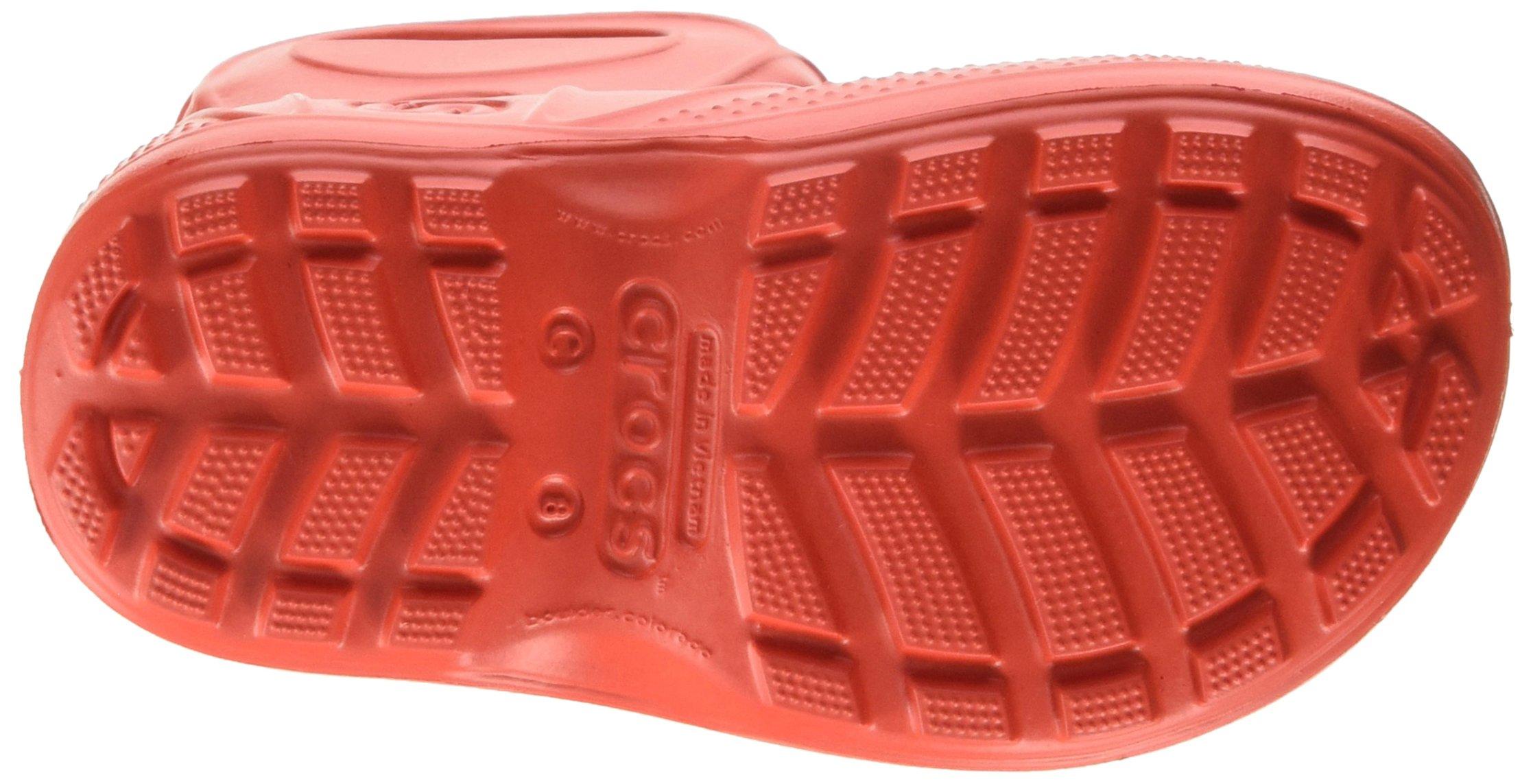 Crocs Kids' Handle It Rain Boot, Flame, 8 M US Toddler by Crocs (Image #3)