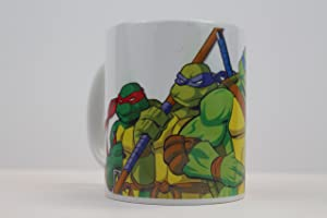 Teenage Mutant Ninja Turtles TMNT 11oz Ceramic Coffee Mug